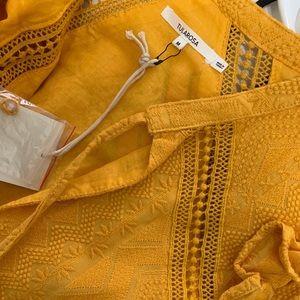 Tularosa Dresses - Brand new tularosa mustard mini dress.